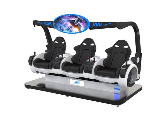 9D VR 3 Seats